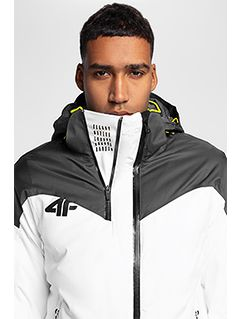 Pánská lyžařská bunda KUMN152 – bílá