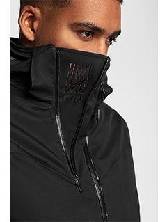 Pánská lyžařská bunda KUMN152 – černá