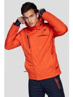 Pánská lyžařská bunda KUMN253 – oranžová