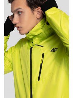 Pánská lyžařská bunda KUMN253R - šťavnatá zelená