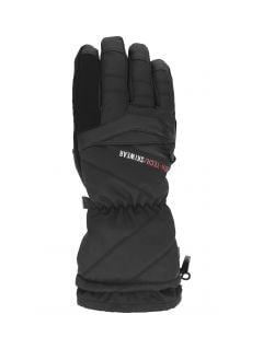 Pánské lyžařské rukavice REM150 - hluboce černé