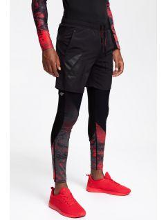 Pánské tréninkové šortky SKMF201 - hluboké černé