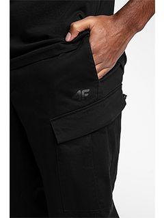Pánské kalhoty sportstyle SPMC201 - hluboce černé