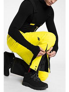 Pánské lyžařské kalhoty SPMN150 – žluté
