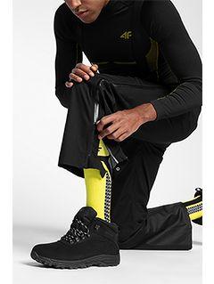 Pánské lyžařské kalhoty SPMN152 - hluboce černé