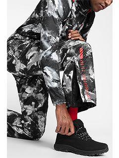 Pánské lyžařské kalhoty SPMN251A - multibarevný allover