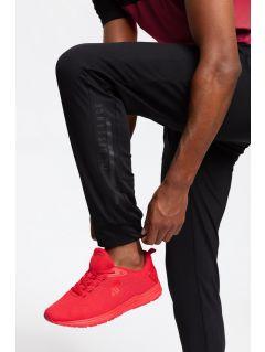 Pánské tréninkové kalhoty SPMTR202 - hluboké černé
