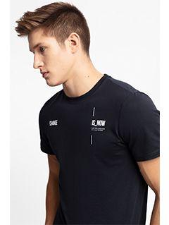 Pánské tričko TSM209 – tmavě modré