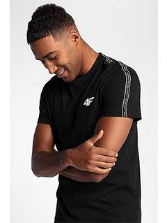 Pánské tričko TSM211 - hluboce černé