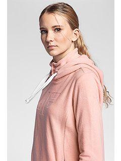 Dámský fleece PLD004 - světle růžový