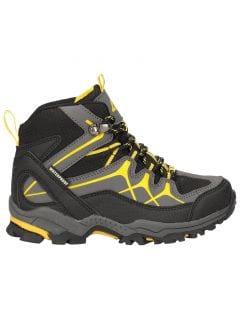 Podzimní boty pro starší děti (kluky) JOBMA400 – černé