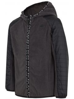 Fleece pro starší děti (kluky) JPLM402 - tmavě šedý