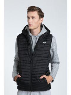 Pánská péřová vesta KUM001  - černá