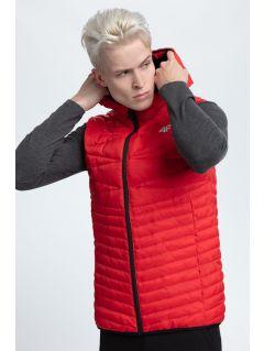 Pánská péřová vesta KUM001  - červená