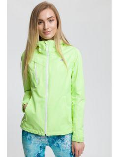 Dámská městská bunda kud010 - neonově žlutá