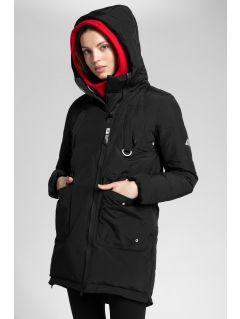 Dámská péřová bunda 4Hills KUDP100 - hluboce černá