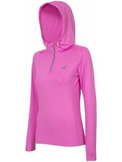 Sportovní mikina dámská BLDF001 - neonová růžová
