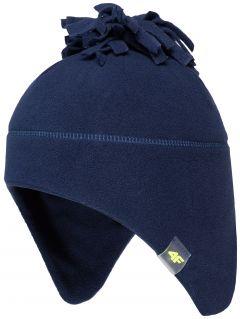 čepice pro mladší chlapce jcam103 - temná tmavě modrá