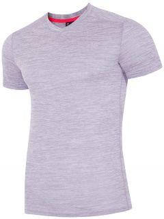 Pánské tréninkové tričko TSMF302 - světle šedá