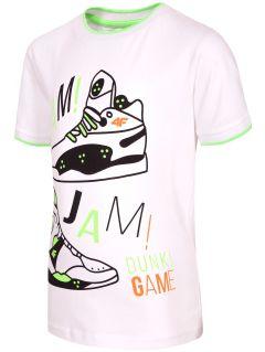 Tričko pro mladší chlapce JTSM116 - bílá