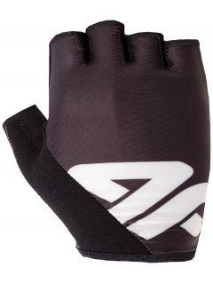 Cyklistické rukavičky unisex RRU200 -černá