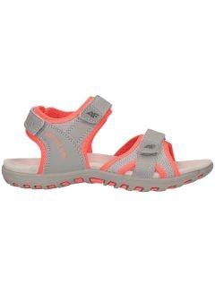 Sandály pro starší chlapce JSAD401 - ŠEDÁ