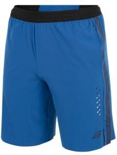 Pánské tréninkové šortky SKMF255 -  modrý
