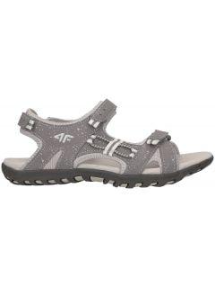 sandály pro mladší dívky JSAD100 -  šedá