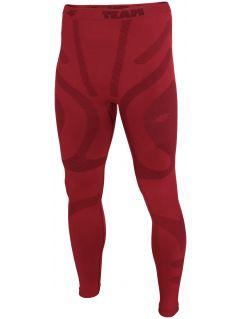 Pánské bezešvé prádlo (dolní část) BIMB200D - tmavě červené