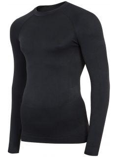 Pánské bezešvé prádlo (horní část) BIMB300G - hluboce černé