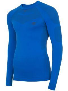 Pánské bezešvé prádlo (horní část) BIMB300G – modré