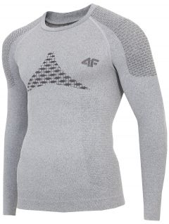Pánské bezešvé prádlo (horní část) BIMB301G – šedé