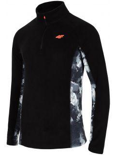 Pánské fleecové prádlo BIMP250 – černé
