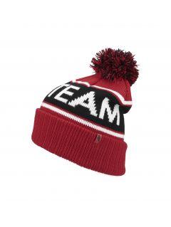 Pánská čepice CAM257 – červená