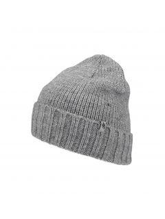 Pánská čepice CAM258 - tmavě šedá