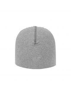 Tréninková čepice unisex CAU200 - středně šedý melír
