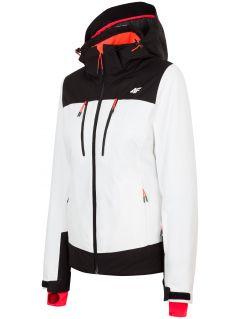 Dámská lyžařská bunda KUDN251– bílá