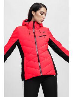 Dámská lyžařská bunda KUDN256 – červená