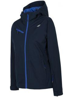 Dámská lyžařská bunda KUDN302 – tmavě modrá
