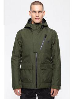 Pánská městská bunda KUM205 - khaki melír
