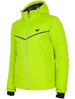 Pánská lyžařská bunda KUMN152R - šťavnatá zelená