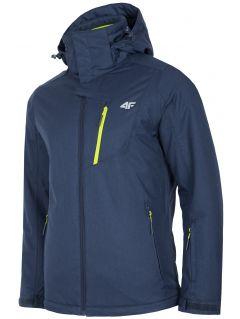 Pánská lyžařská bunda KUMN253R - tmavě modrý melír