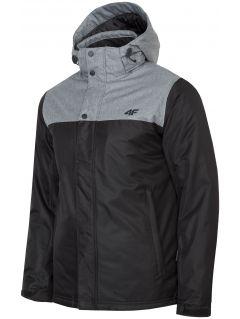 Pánská městská bunda KUMN351R - hluboce černá