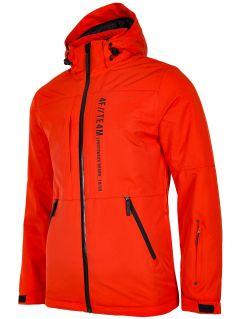 Pánská lyžařská bunda KUMN552R – oranžová