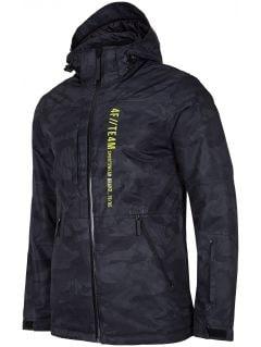 Pánská lyžařská bunda KUMN552R - multibarevný allover