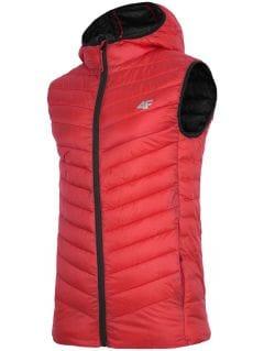 Pánská péřová vesta KUMP302 – červená