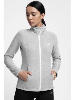 Dámský fleece PLD300 - chladný světle šedý melír