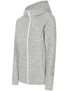 Dámský fleece PLD302 - chladný světle šedý melír