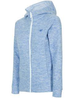 Dámský fleece PLD302 - modrý melír