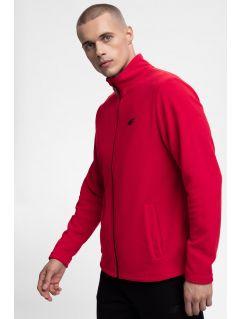 Pánský fleece PLM300 – červený